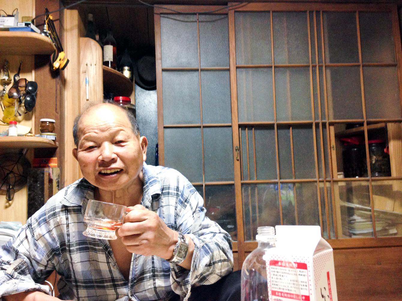 いつも飲むお酒は、焼酎のグレープソーダ割り。