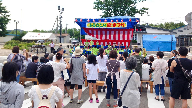 地元の祭りを支える人がいる町