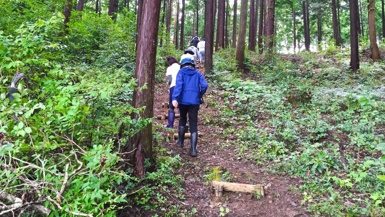 「神山塾日誌」− 参加型神山プロジェクト 森づくり体験 −