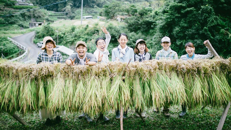 受け継いでいく者のひとりとして-江田集落での稲刈り作業-