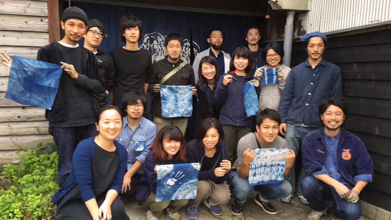徳島の藍の魅力を体感する〜本藍染ワークショップレポート〜