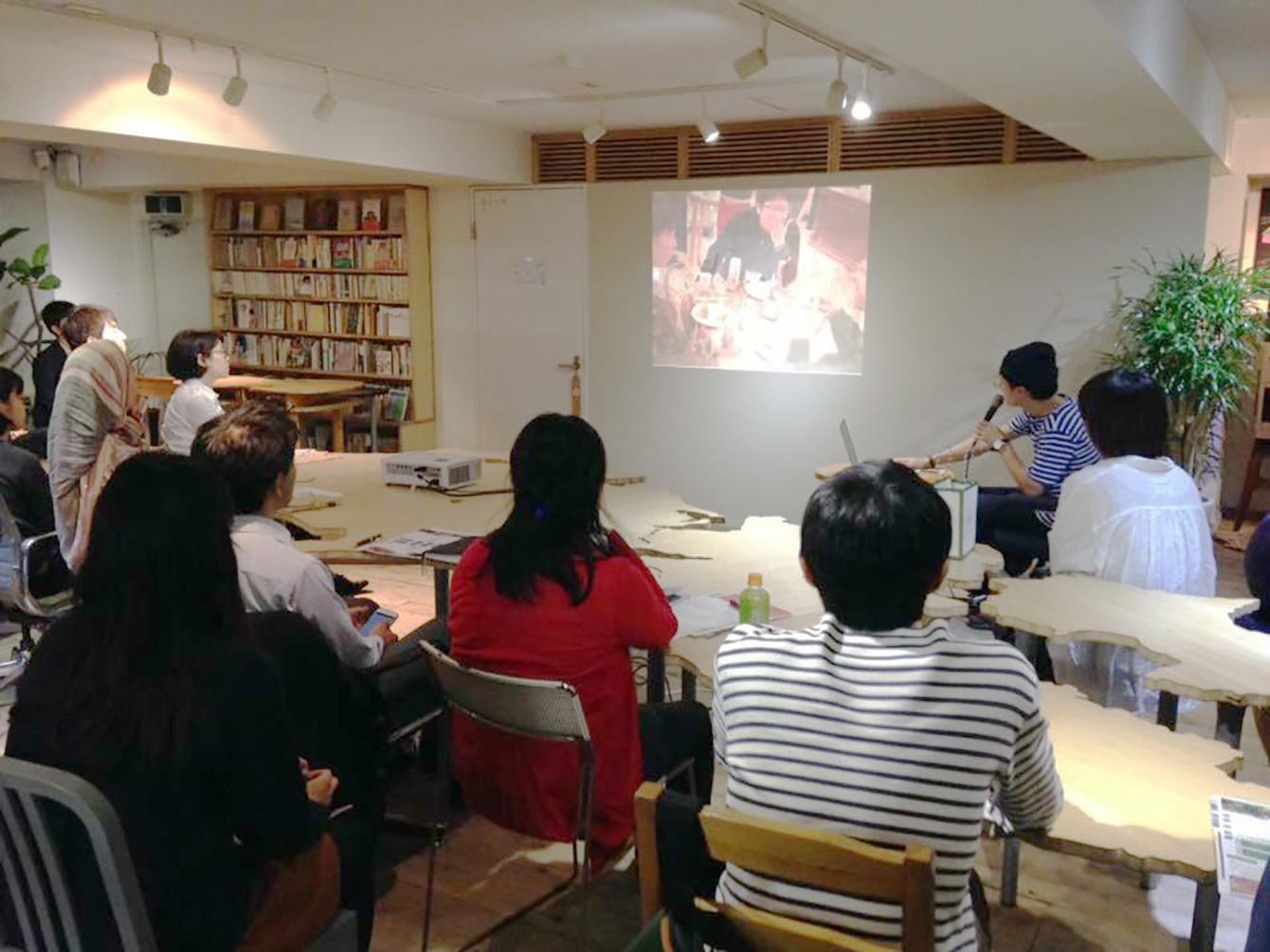 東京で行われた神山塾第7期募集説明会の様子。