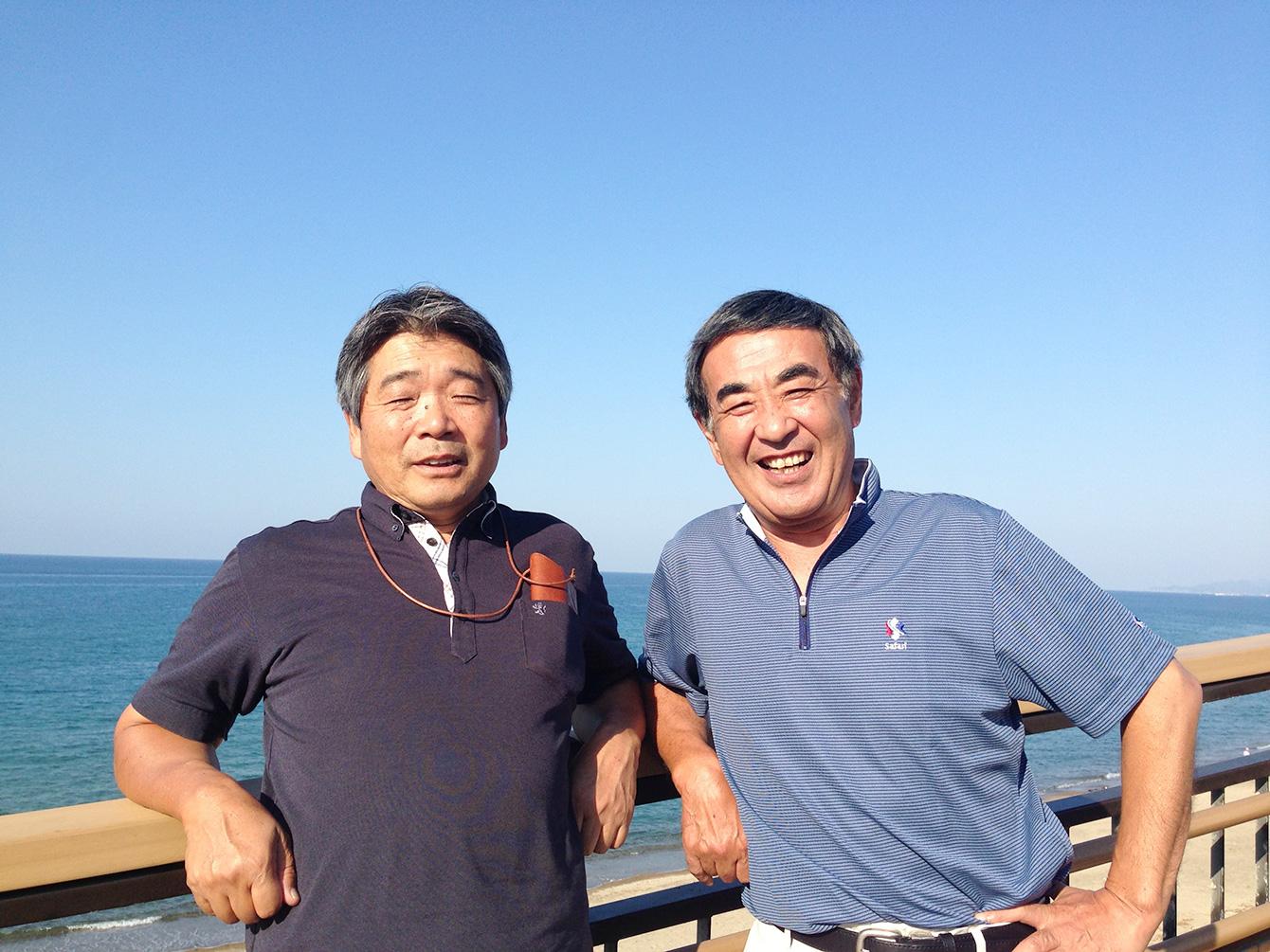 NPO法人グリーンバレー理事の岩丸さん(右)、佐藤さん(左)。