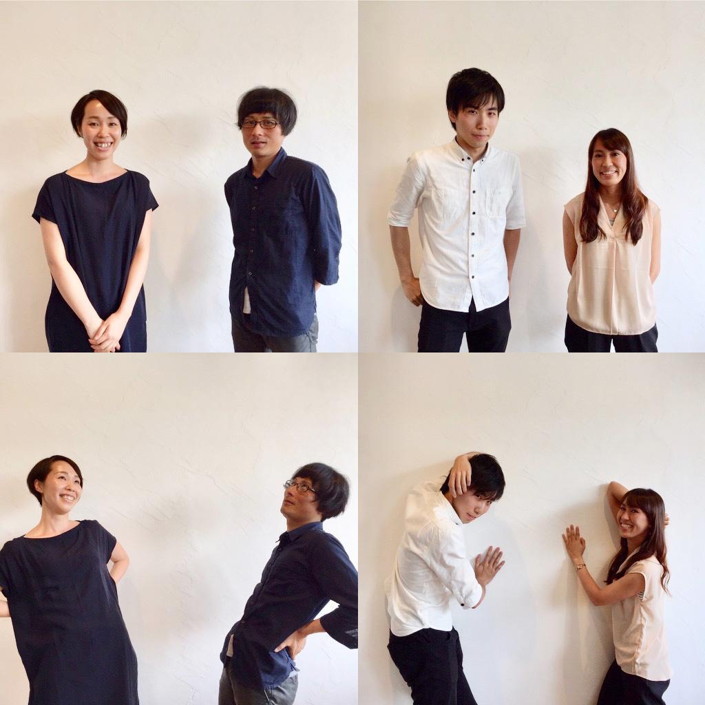 KATALOGコース塾生 ① (左から)村川さん、雨森さん、遠藤さん、大島さん。
