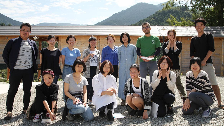 神山塾第9期、秋の訪れとともにはじまりました