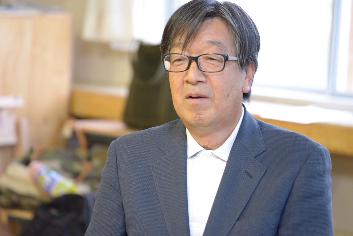 前浦幌町副町長を務め、現在はうらほろスタイル推進地域協議会の会長を務める門馬会長。