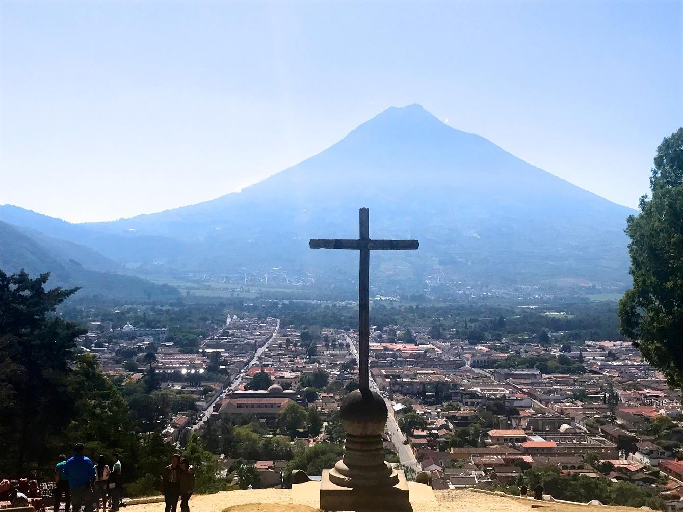 語学留学したグアテマラの景色。