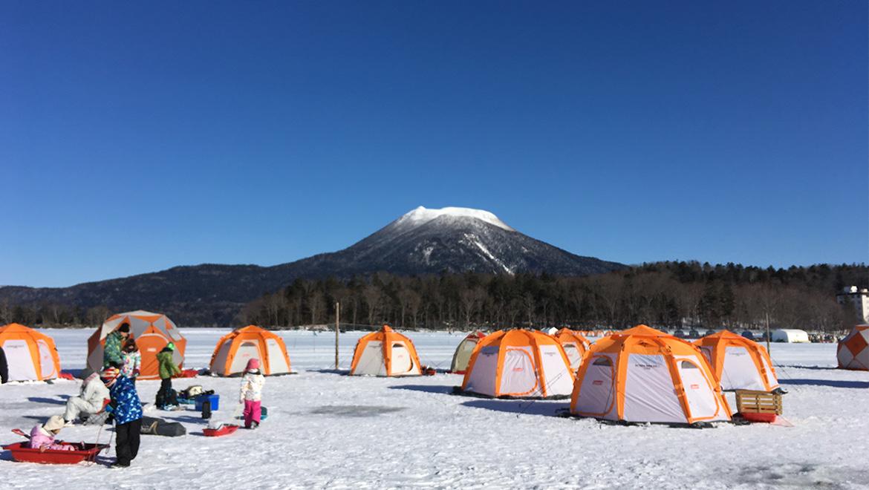 冬の北海道LOG・憧れのワカサギ釣りは貴重な体験でした