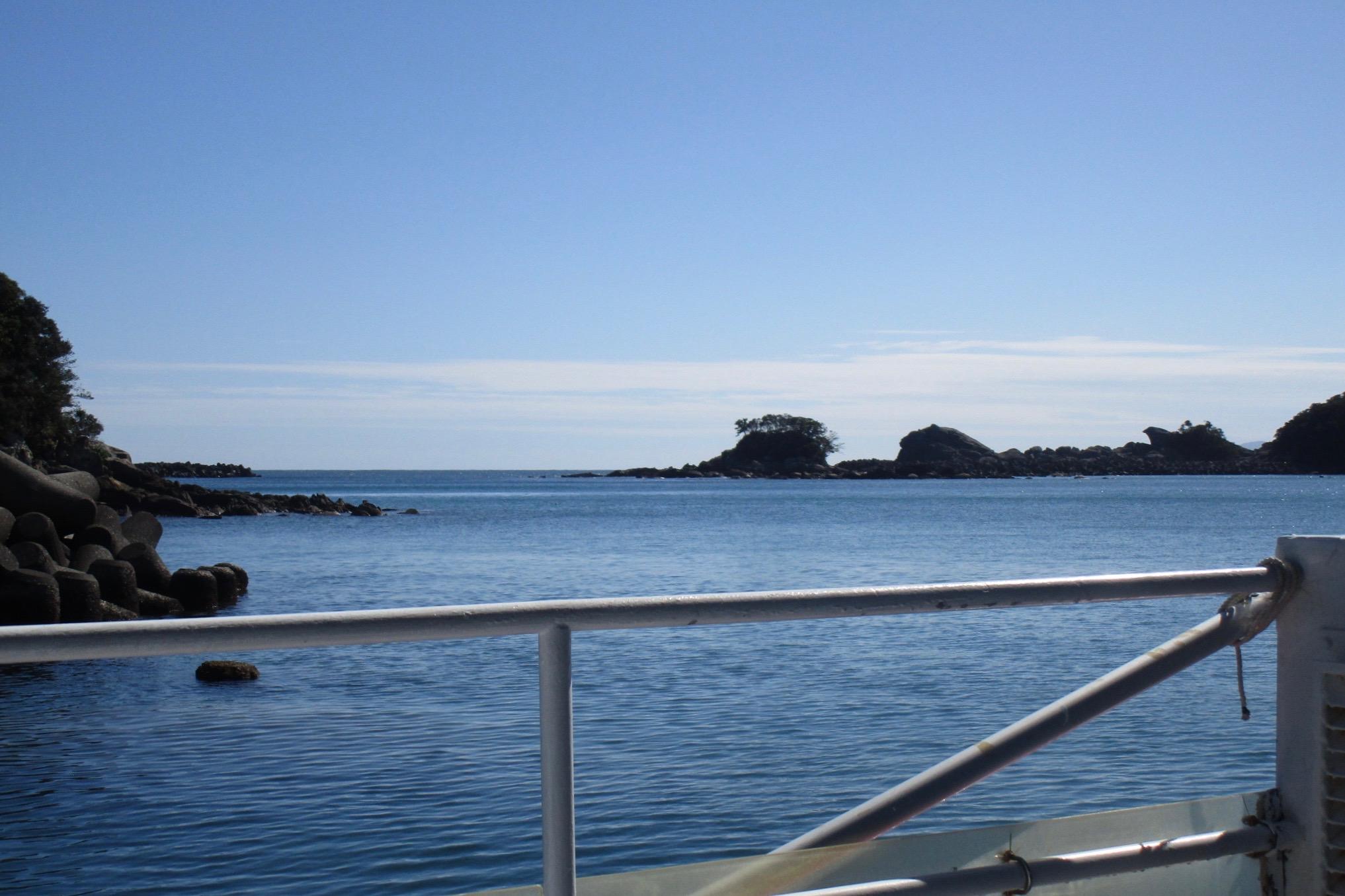 青い空と、美しい太平洋